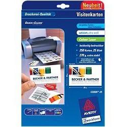 Avery - C32026-25 tarjeta de visita