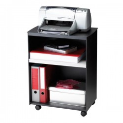 PaperFlow - K450001 Negro caja y organizador para almacenaje de archivos