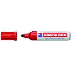 Edding - 500 Permanent Marker Red (10) marcador permanente