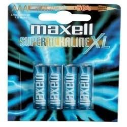 Maxell - AAA 4 - pk Single-use battery Alcalino
