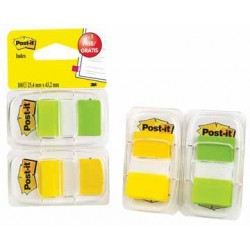 Post-It - 6802YGP lengüeta de índice