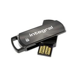 Integral - Secure 360, 16GB 16GB USB 2.0 Tipo A Negro unidad flash USB