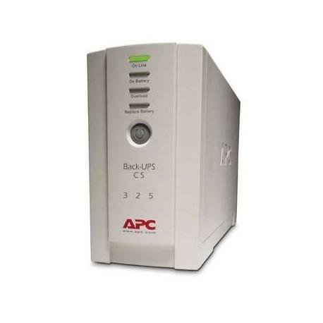APC - Back-UPS CS 325 w/o SW 350VA Beige sistema de alimentación ininterrumpida (UPS)