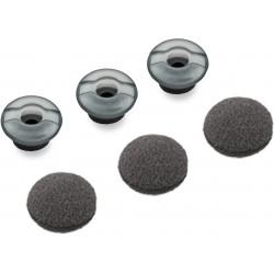 Plantronics - 81292-02 almohadilla para auriculares Gris Silicona 3 pieza(s)
