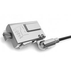 Compulocks - WDG08 cable antirrobo Negro, Plata
