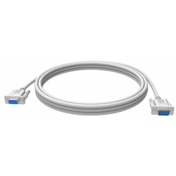 Vision - TC 2MSEXT cable de serie Blanco 2 m 9-pin D-sub