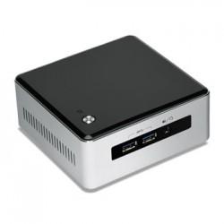Intel - NUC BLKNUC5I3MYHE BGA 1168 2.1GHz i3-5010U UCFF Negro, Plata PC/estación de trabajo barebone