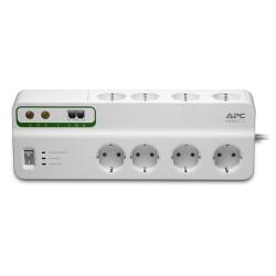 APC - PMF83VT-GR limitador de tensión 8 salidas AC 230 V 3 m Blanco