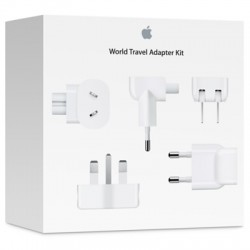 Apple - MD837ZM/A adaptador de enchufe eléctrico Blanco