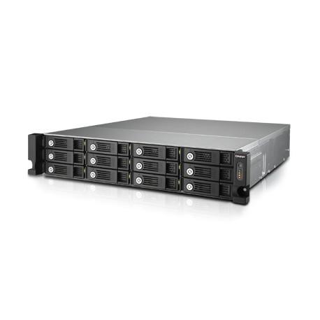 QNAP - TVS-1271U-RP NAS Bastidor (2U) Ethernet Negro, Gris - 19700596