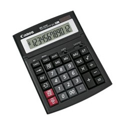 Canon - WS-1210T calculadora Escritorio Pantalla de calculadora Negro