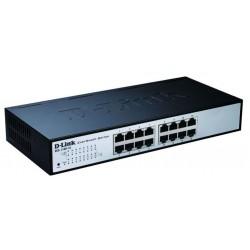 D-Link - DES-1100-16 Conmutador de red administrado L2 Negro switch