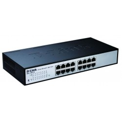 D-Link - DES-1100-16 Managed network switch L2 Negro switch