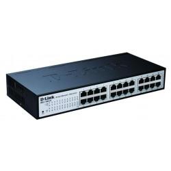 D-Link - DES-1100-24 Conmutador de red administrado L2 Negro switch
