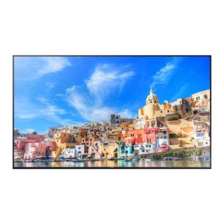 "Samsung - QM85D Digital signage flat panel 85"" LED 4K Ultra HD Negro"
