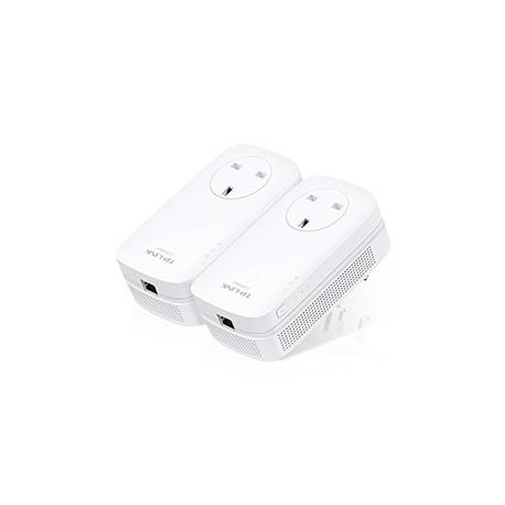 TP-LINK - AV1200 1200Mbit/s Ethernet Blanco 2pieza(s) adaptador de red powerline - 20408334