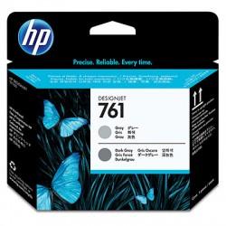 HP - Cabezal de impresión DesignJet 761 gris/gris oscuro