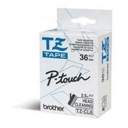 Brother - TZe-CL6 Cinta de limpieza del cabezal de impresión
