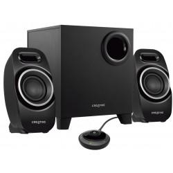 Creative Labs - T3250W conjunto de altavoces 2.1 canales Negro