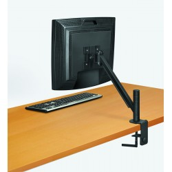 """Fellowes - 8038201 21"""" Negro, Perlado soporte de mesa para pantalla plana"""