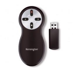 Kensington - Si600 Wireless Presenter with Laser Pointer apuntador inalámbricos Negro