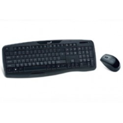 Genius - KB-8000X RF inalámbrico Negro