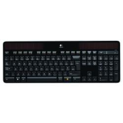 Logitech - K750 RF inalámbrico QWERTY Español Negro teclado