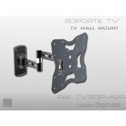 3GO - TVSOP-A2R soporte de pie para pantalla plana