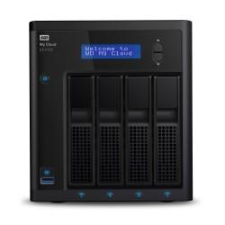 Western Digital - My Cloud EX4100 Ethernet Escritorio Negro NAS - WDBWZE0000NBK-EESN