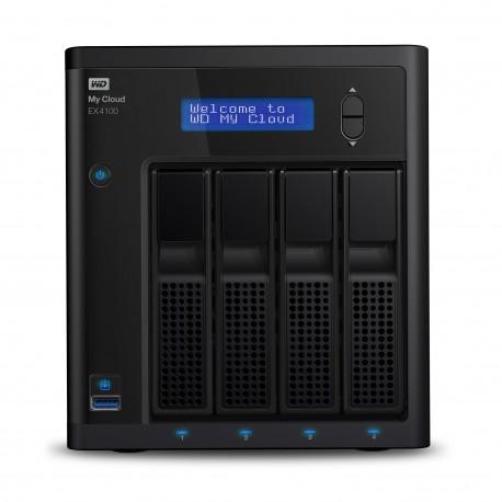 Western Digital - My Cloud EX4100 NAS Escritorio Ethernet Negro