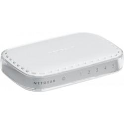 Netgear - GS605-400PES switch No administrado L2 Gigabit Ethernet (10/100/1000) Blanco