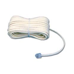 MCL - Cable Modem RJ11 6P/4C 3m cable telefónico