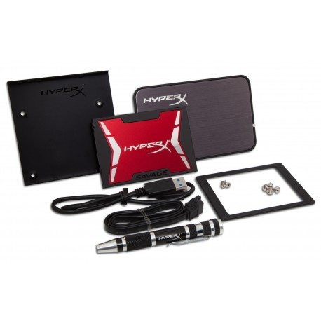 HyperX - HyperX SAVAGE SSD 480GB Bundle kit