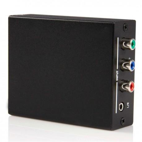 StarTech.com - Conversor de Video Componente a HDMI con Audio