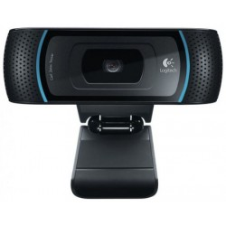 Logitech - B910 HD 5MP USB 2.0 Negro cámara web