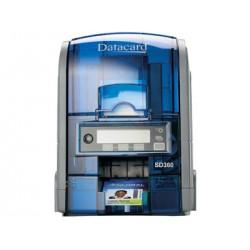 DataCard - SD360 impresora de tarjeta plástica Sublimación de tinta/Transferencia térmica por resina Color 300 x 300 DPI