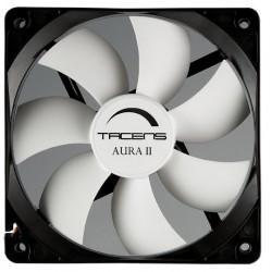 Tacens - Aura II 12cm Carcasa del ordenador Ventilador Negro, Blanco