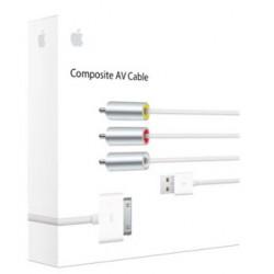 Apple - MC748ZM/A Blanco cable de vídeo compuesto