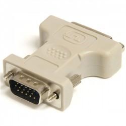 StarTech.com - Adaptador Conversor DVI-I a VGA - DVI-I Hembra - HD15 Macho - Blanco