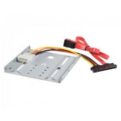 StarTech.com - Juego Kit Adaptador Bandeja de Montaje Unidad de Disco Duro SATA de 2,5in Pulgadas a 3,5