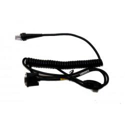 Honeywell - CBL-120-300-C00 3m RS-232C Negro cable de serie