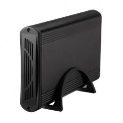 """TooQ - CAJA HDD 3.5"""" SATA A USB 2.0/3.0 NEGRA"""