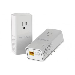 Netgear - PLP1200-100PES adaptador de red powerline 1200 Mbit/s Ethernet Blanco 2 pieza(s)