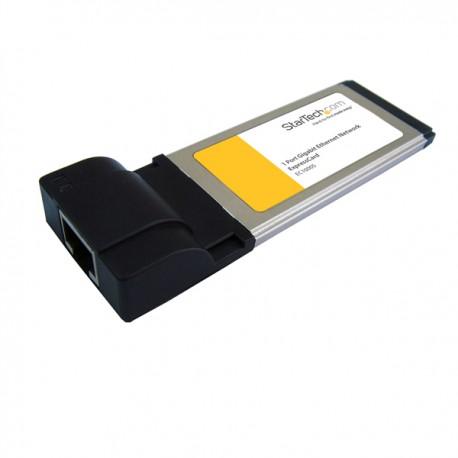 StarTech.com - Adaptador Tarjeta de Red de 1 Puerto Gigabit Ethernet NIC ExpressCard/34 34mm RJ45