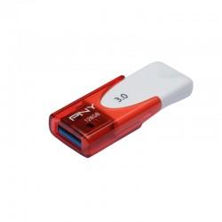 PNY - Attaché 4 3.0 128GB 128GB USB 3.0 (3.1 Gen 1) Conector USB Tipo A Rojo, Blanco unidad flash USB