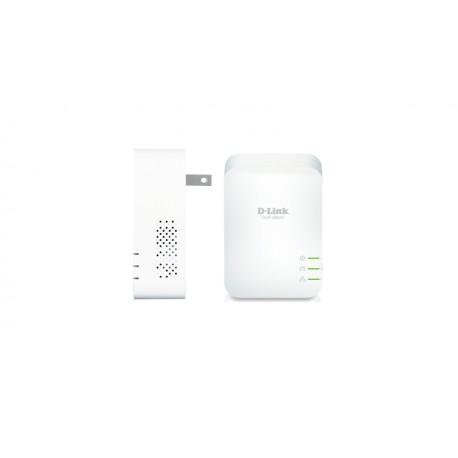 D-Link - DHP-601AV Ethernet Blanco 2pieza(s) adaptador de red powerline