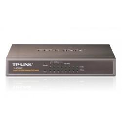 TP-LINK - 8-port 10/100 PoE Switch Conmutador de red no administrado Energía sobre Ethernet (PoE) Negro