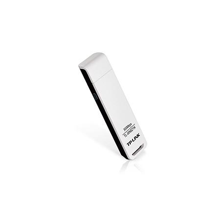 TP-LINK - 300Mbps Wireless N USB Adapter WLAN 300Mbit/s adaptador y tarjeta de red