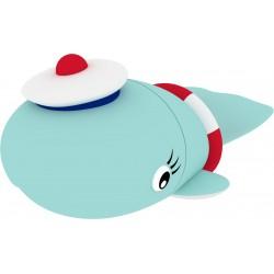 Emtec - USB2.0 M337 8GB Sailor Whale 8GB USB 2.0 Capacity Azul, Rojo, Blanco unidad flash USB