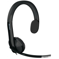 Microsoft - LifeChat LX-4000 for Business Monoaural Diadema Negro